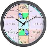 """CafePress - Golden Ratio Math Clock - Unique Decorative 10"""" Wall Clock"""