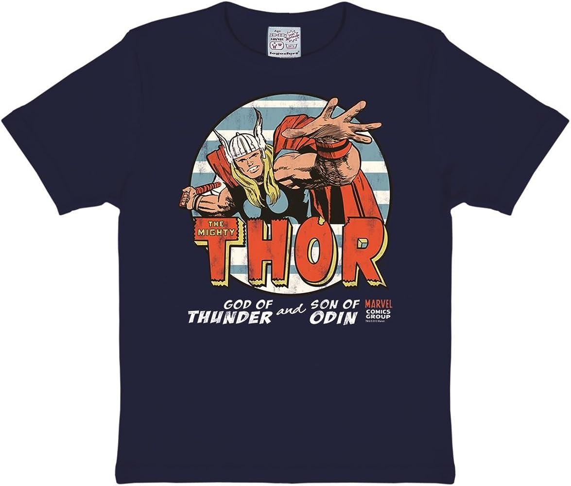Logoshirt Camiseta para niño Thor, Marvel Comics - El Dios del ...