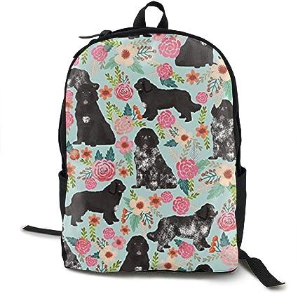 ddee55222ea5 Amazon.com: Wialis8-id Newfoundland Dogs Cut Puppy Travel High ...