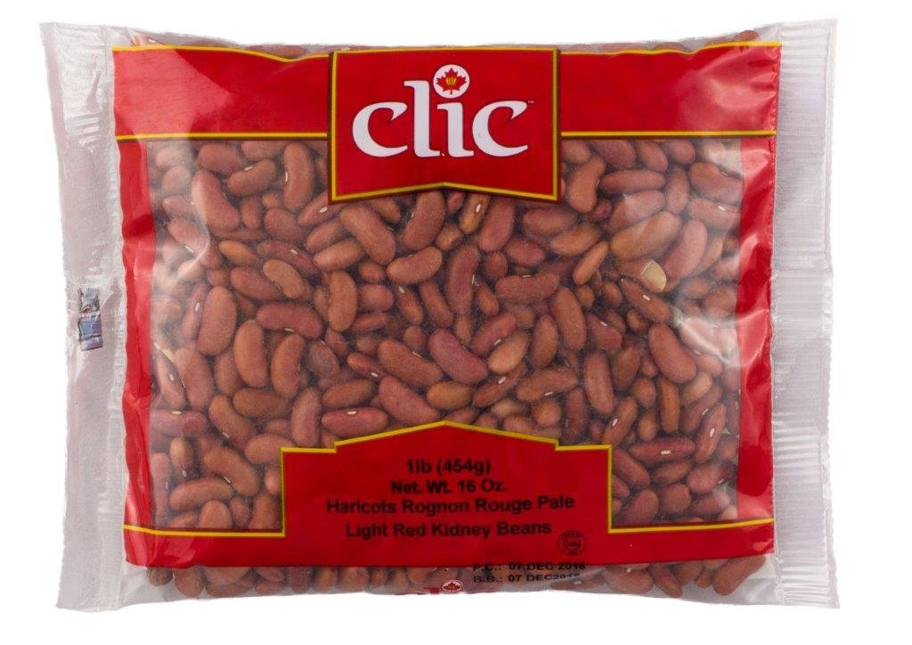 CLIC Light Kidney Beans, Red, 24/1 lb.