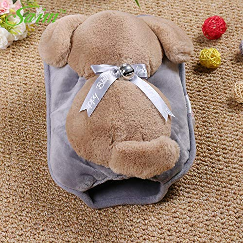 Hot Water Bottles | Lovely Electric Hot Water Bag Cute Back View Dog Hot Water Bottle Plush Hand Warmer Winter Water Heating Warmer Bag JJ50611 | by BACOHO -