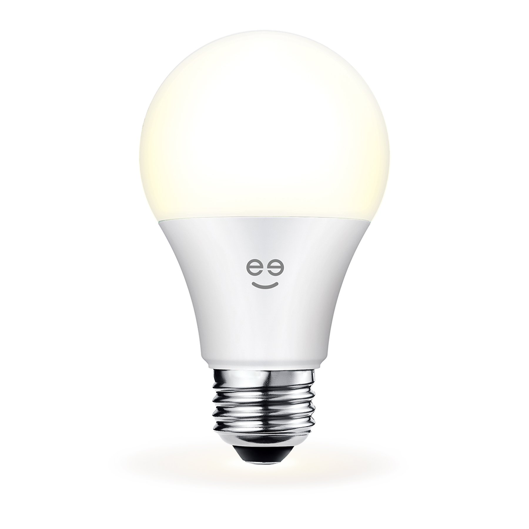 Geeni Lux 800 A19 Smart Wi-Fi LED Dimmable White Light Bulb - 60W Equivalent, No Hub Required, Works with Alexa, Google Assistant & Microsoft Cortana by Geeni (Image #1)