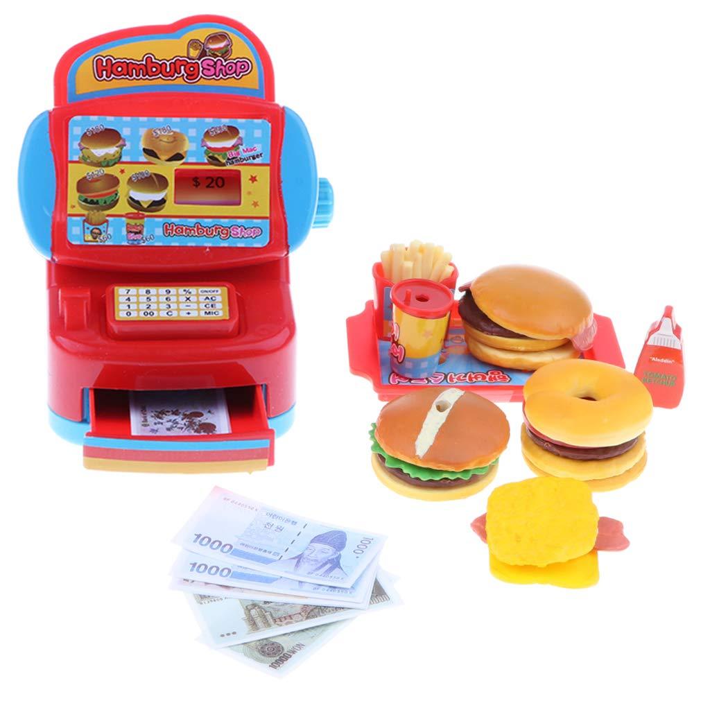 0cf632e016f5d2 Amazon   B Baosity シミュレーション ファストフードレストラン キャッシュレジスター キッズ おままごとおもちゃ   お店屋さん    おもちゃ