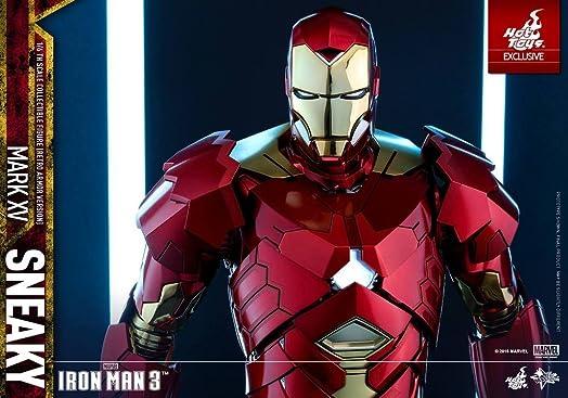 Iron Man Mark XV Sneaky Retro Armor Version Sideshow Exclusive