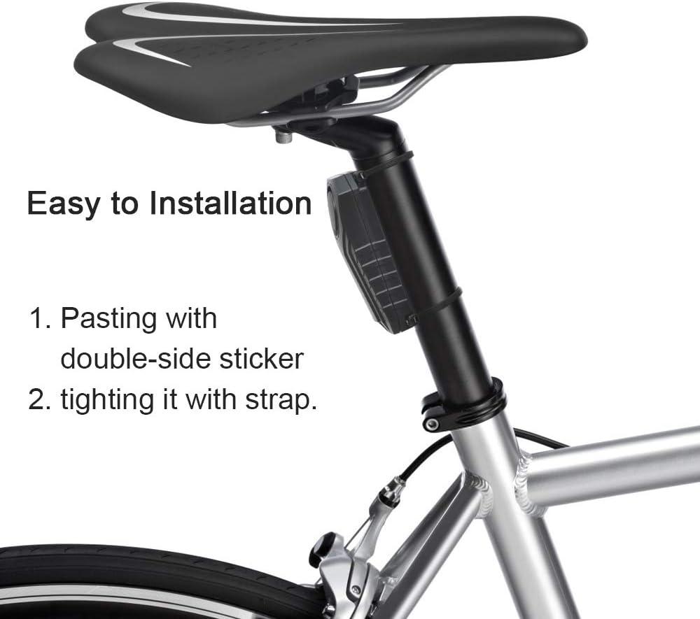 Alarma Inalambrica De Seguridad Para Moto Bicicleta Puertas Y Ventanas Antirrobo