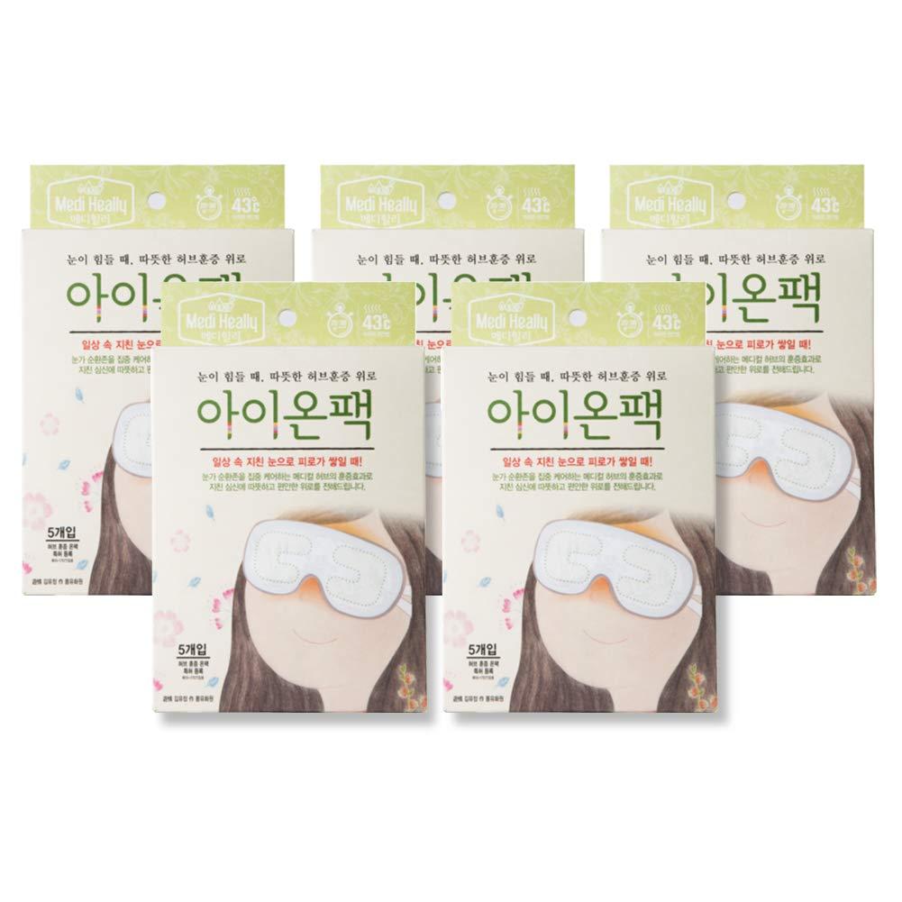 Medi-heally Herbal Heating Eye Relief Patch (5 packs (25 ea))