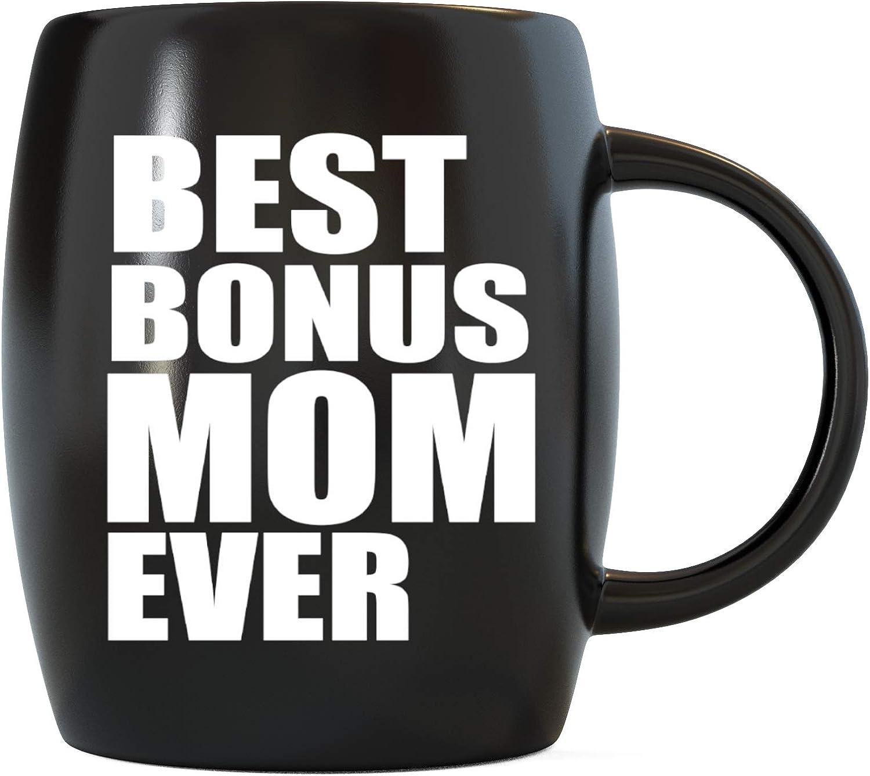 Stepmom Gifts Stepmom Mug From Stepdaughter Stepson Kids Funny Step Mom Coffee