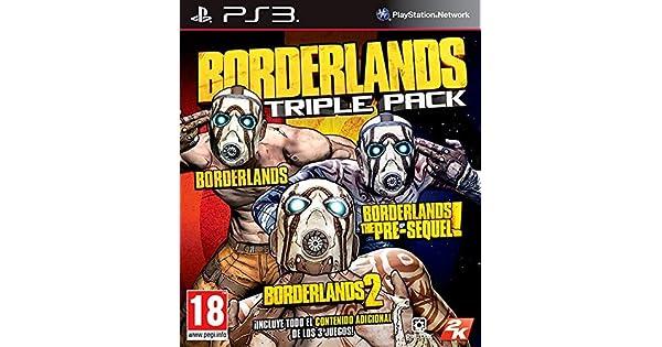 Borderlands Triple Pack: Amazon.es: Videojuegos