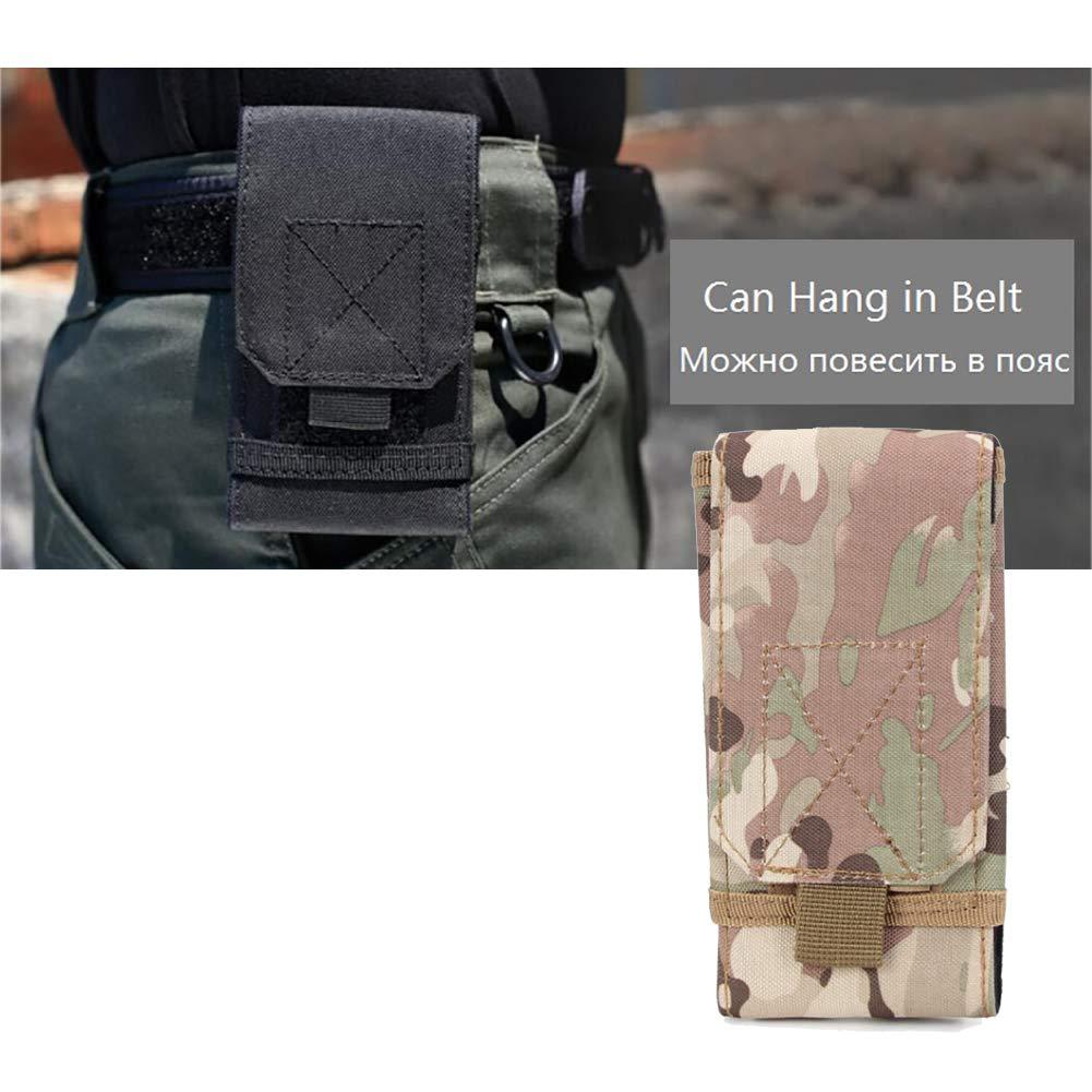 Xiton 1 PC Tactique Molle Poche Compact EDC Poche Utilitaire Gadget Sac De Taille Pack T/éL/éPhone Portable /ÉTui De Ceinture Protection pour LExt/éRieur Camouflage