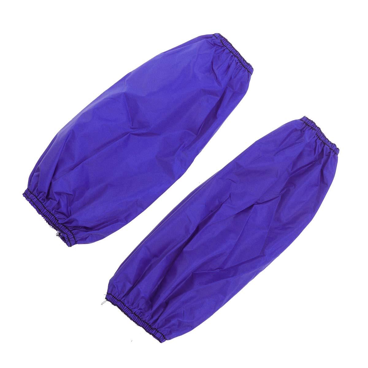 HEALIFTY Manicotti impermeabili antifouling con maniche antiolio in PVC antipioggia Manicotti maniche corte Manicotti da cucina 1Pair blu