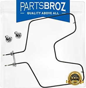 WB44T10010 Bake Element for General Electric Ovens by PartsBroz - Replaces Part Numbers AP2030996, 770549, AH249285, EA249285, PS249285