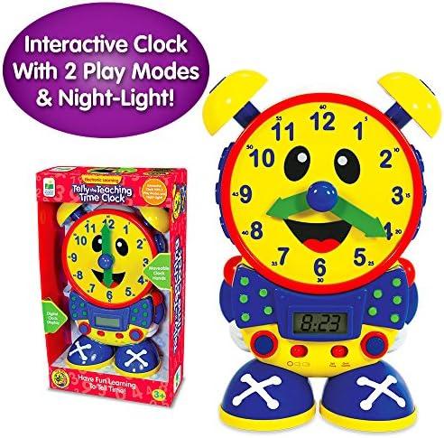 [해외]학습 여행 텔레비전 교육 시간 시계입니다. / The Learning Journey Telly the Teaching Time Clock、プライマリ色