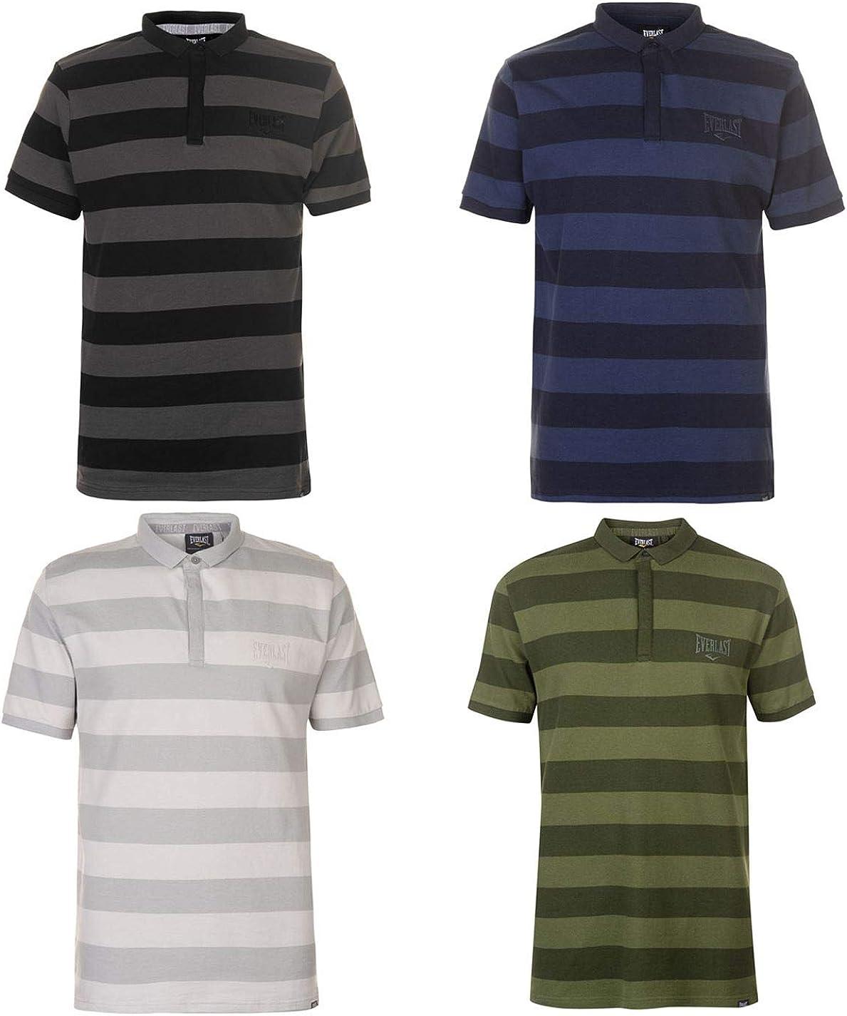 Everlast Rayure - Polo para Hombre, Talla S, Color Negro Verde 4XL ...