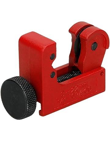 ECD Germany Mini cortatubos Envergadura de 3 mm - 22 mm 1/8 pulgadas-