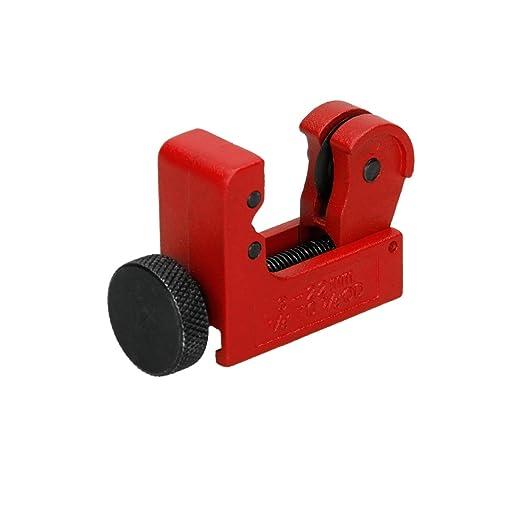 1 opinioni per ECD Germany 3-22 mm Mini TagliaTubi Antiscivolo con Rotella Zigrinata con