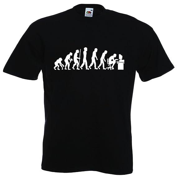 Toptshirt T-Shirt Geek Evolution de l'Espè