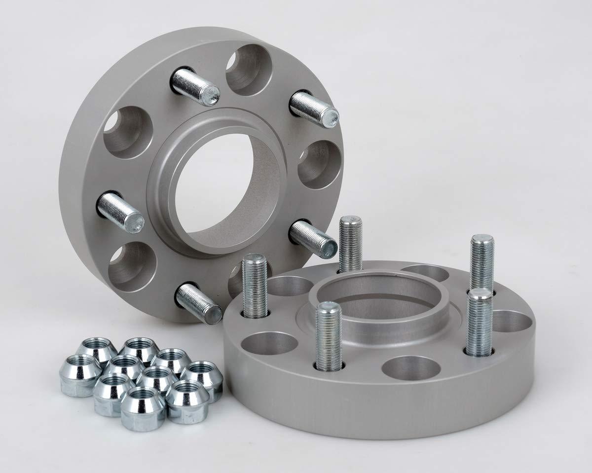incl 30 mm pro Scheibe // 60 mm pro Achse Spurverbreiterung Aluminium 2 St/ück T/ÜV-Teilegutachten