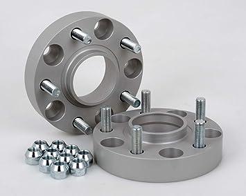 incl T/ÜV-Teilegutachten 25 mm pro Scheibe // 50 mm pro Achse Spurverbreiterung Aluminium 4 St/ück