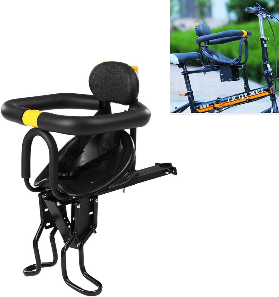 Kinder Fahrradsitz Kindersitz Einstellbar Halterung Fahrradkindersitz Vorne Sitz