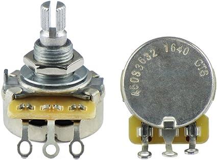 CTS - Potenciómetro de volumen o tono para guitarra eléctrica y ...