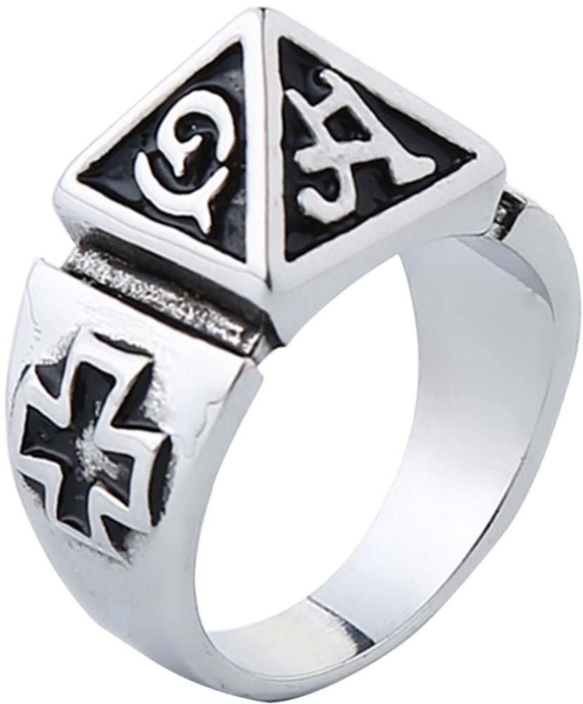 Anillo de la pirámide anillo personalizado para los hombres anillo único