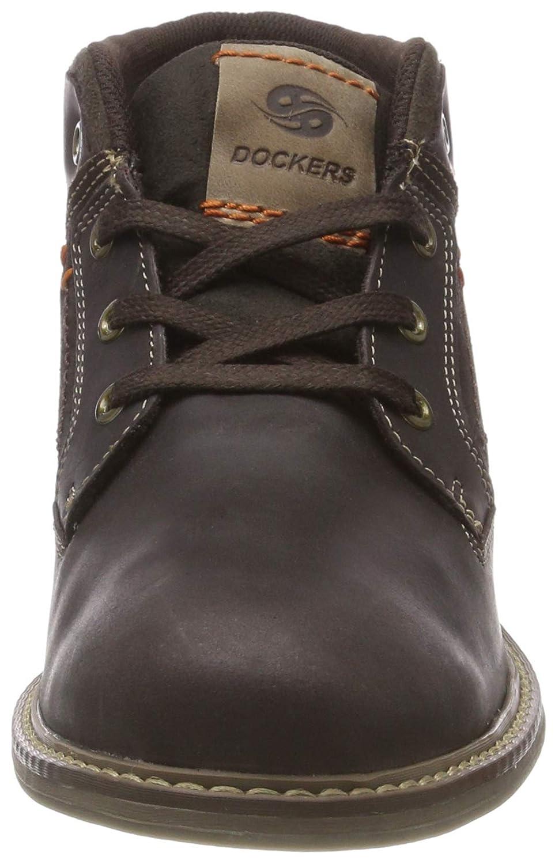 Dockers by Gerli Herren 35ei016 375) Desert Boots, Braun (Schoko/Taupe 375) 35ei016 e7d5d1