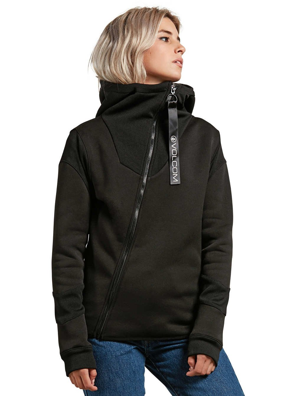 Volcom Walk On by Tech Übergangsjacke, Mujer, B3131855, Negro, Small: Amazon.es: Deportes y aire libre