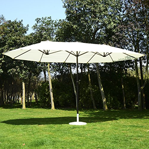 Outsunny Outdoor Market Double Sided Umbrella product image