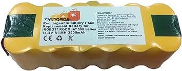 Tiendade Bateria para aspirador Roomba Series 500, 600, 700, 800 3500 mAh, con iva: Amazon.es: Electrónica