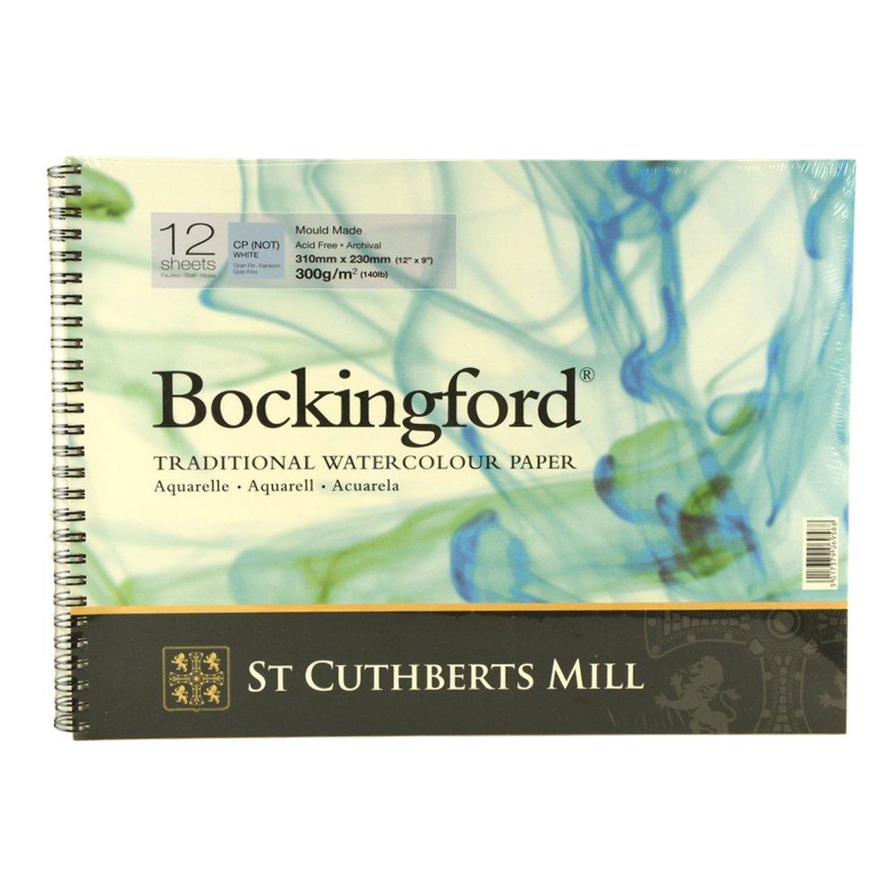 Bockingford Spiral Pad - 12x9in (31x23cm) NOT R K Burt & Co Ltd