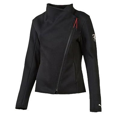 Puma Ferrari Women s Sweat Jacket (571215 01) (Moonless Night) (UK ... c659ddc81c7