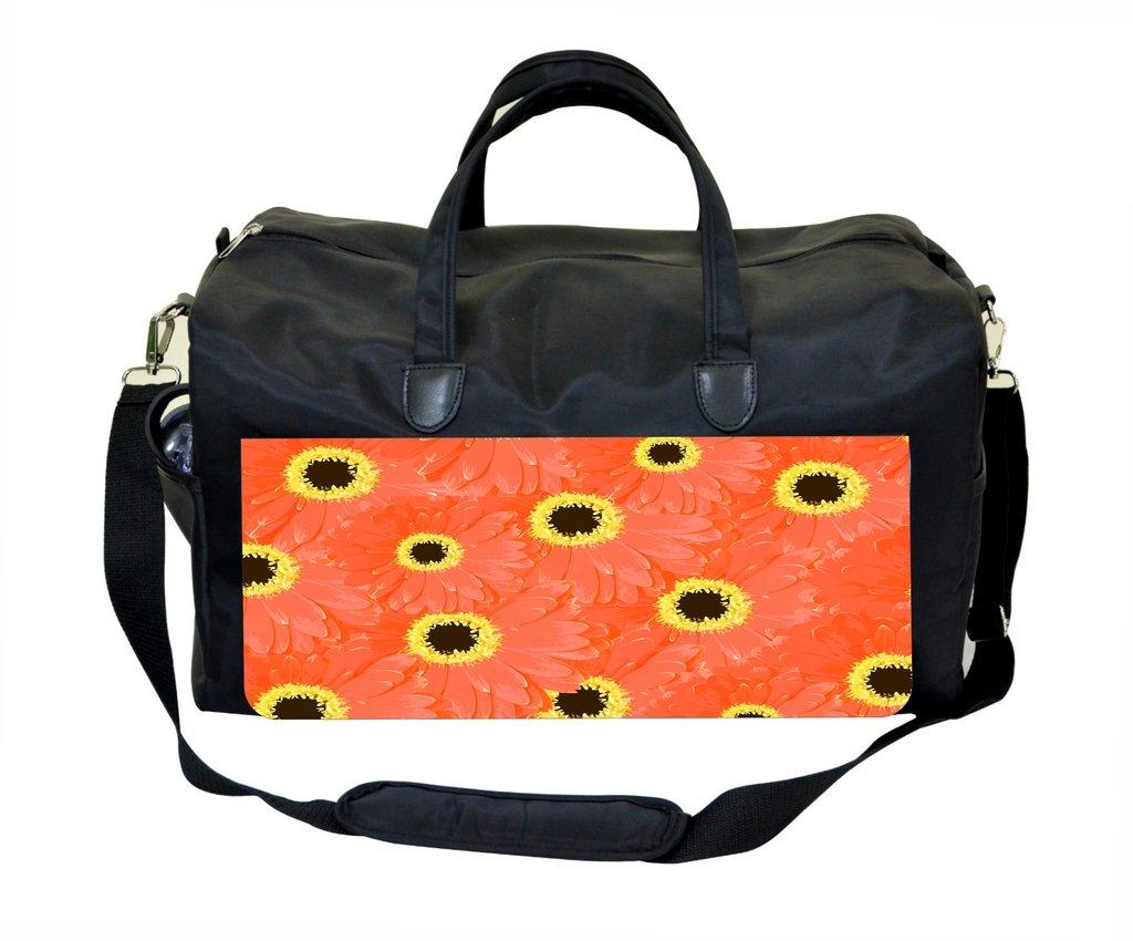 Orange Sunflowers Weekender Bag