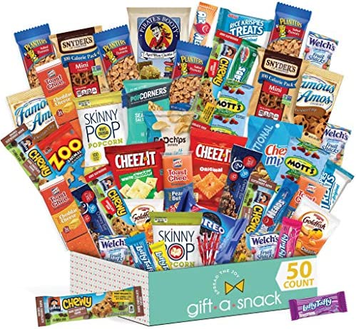 Snack Box Variety Pack (50 Count) Candy