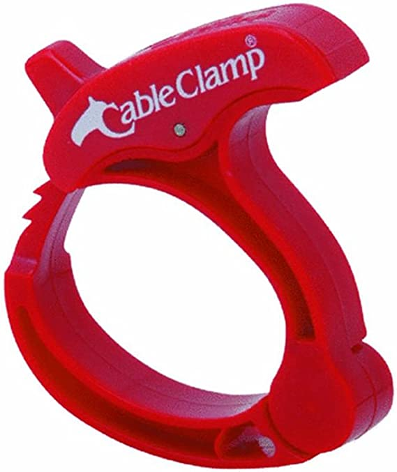 Cable Clamp Sim Supply Clamp 1 Each Aluminum PK 50 HAWA CO0609AL 3//8 in Cable Clamping Dia