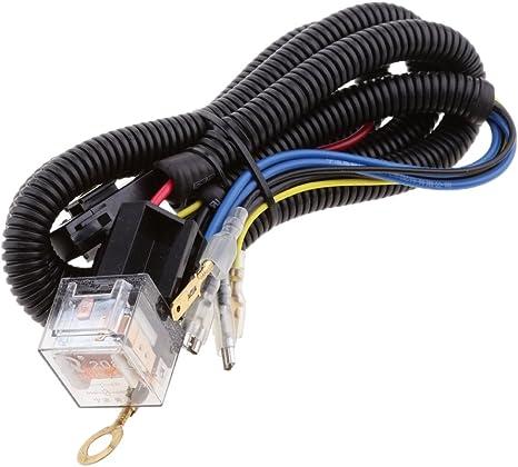 12V Horn Wiring Harness Relay Kit Universal for Car Truck Mount Blast Tone Horns EBTOOLS Horn Harness
