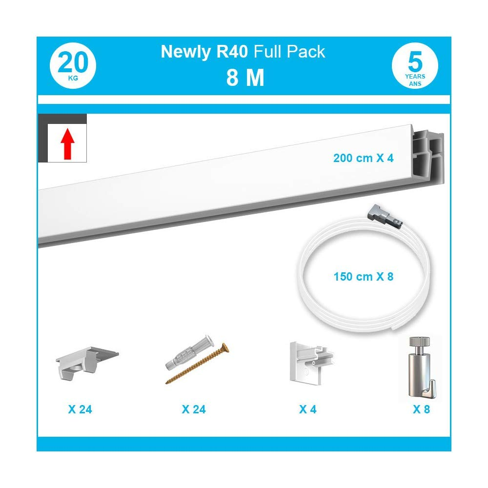 8metri: Pack completo Cimasa Newly R20R40