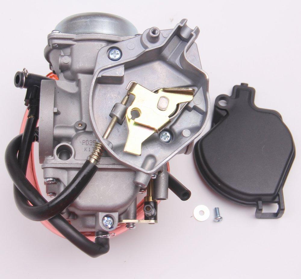Amazon.com: New Carburetor CARB For Kawasaki KVF400 PRAIRIE 400 1998  Replace # 15003-1282: Automotive
