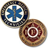 EMT - IAFF Challenge Coin by Northwest Territorial Mint