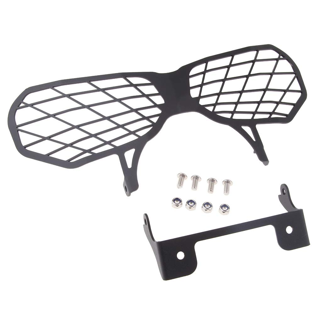 Flameer 13 Inch Black Front Headlight Guard Protector Grill for Honda CRF1000L Africa Twin 2016-17