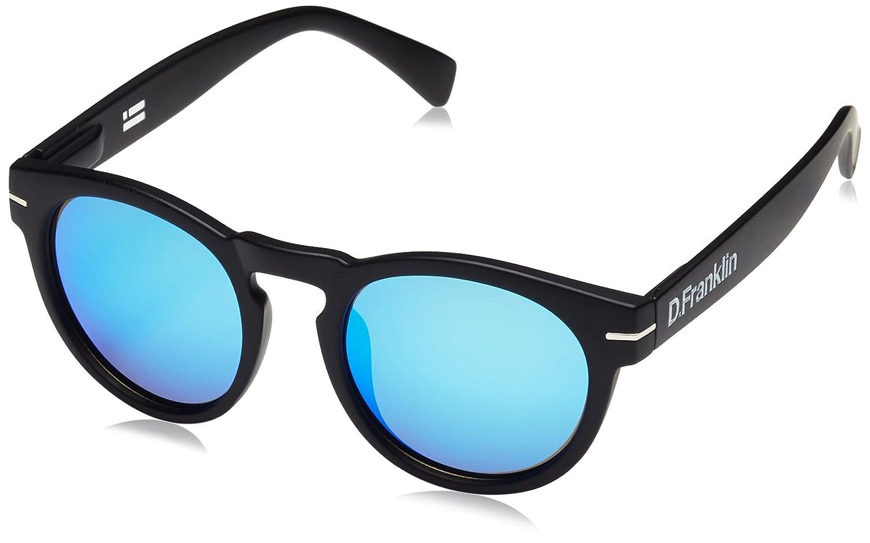 D. Franklin Rem Black, Gafas de Sol Unisex Adulto