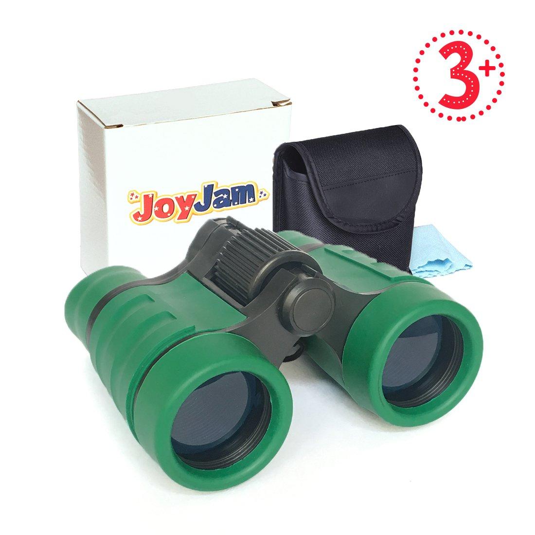 Joyjamコンパクト耐衝撃子供用双眼鏡、Best Gift For Boys & Girls (マルチカラー) B0792VNLFH グリーン グリーン