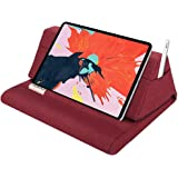 """MoKo Tablet Pillow Stand, Soft Bed Pillow Holder, Fits up to 11"""" Pad, Fit with iPad 10.2""""(8th Gen), New iPad Air 4 10.9…"""