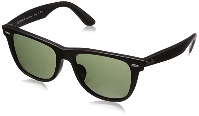 c4dccf8f27 Image Unavailable. Image not available for. Colour  Ray-Ban Ray-Ban Men s  RB2140F Wayfarer Sunglasses Matte Black   Crystal ...