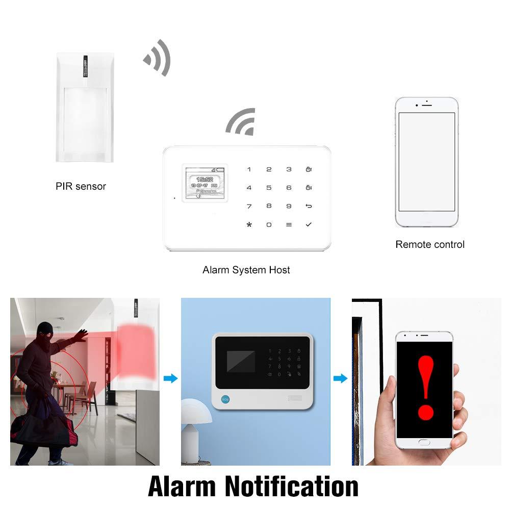 Festnight Sensor de Movimiento PIR Cableado Detector de ...