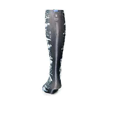 Hocsocx Shin Guard Rash UNDER socks- Women s Large (Zipper back ... 12ed739a8