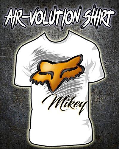 Personalized Airbrushed Fox Shirt ()