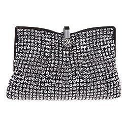 Fawziya Mini Clutch Evening Bags And Clutches For Womens Purses-Black