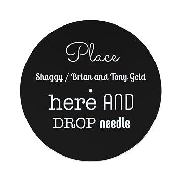 Coloque Shaggy/Brian y Tony Gold aquí y suelte la aguja deslizante: Amazon.es: Instrumentos musicales