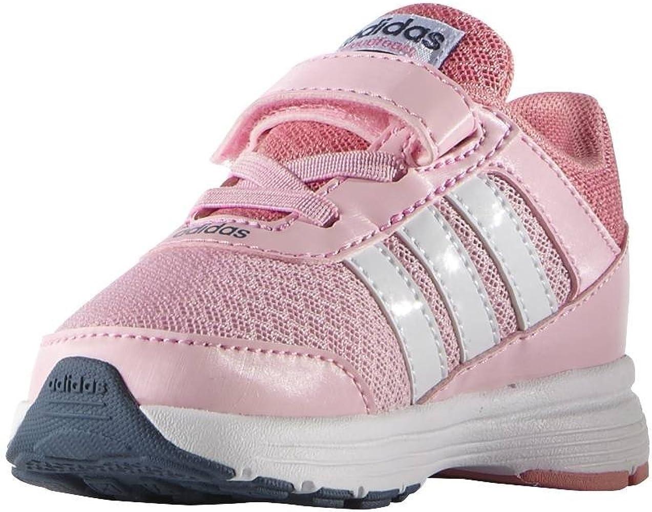 adidas Cloudfoam VS City Inf - Zapatillas para niña, Color Rojo ...