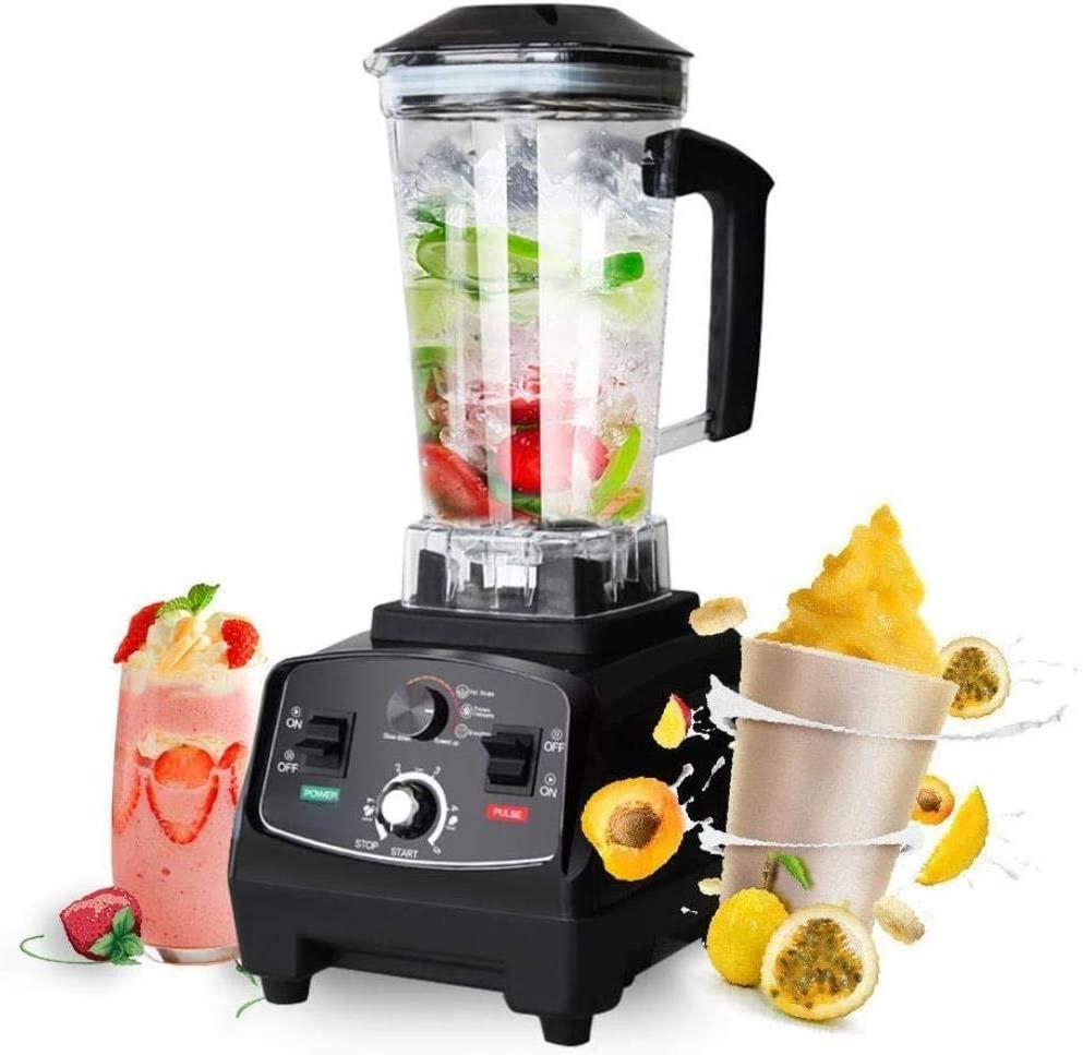Mini Juicers High Duty Automatic Fruit Blenders Commercial Grade Juicers Mixer Juice Bar CE Food Processor Ice Crusher Smoothies 2200W Large 2 Litre Capacity Jug Mixers machine